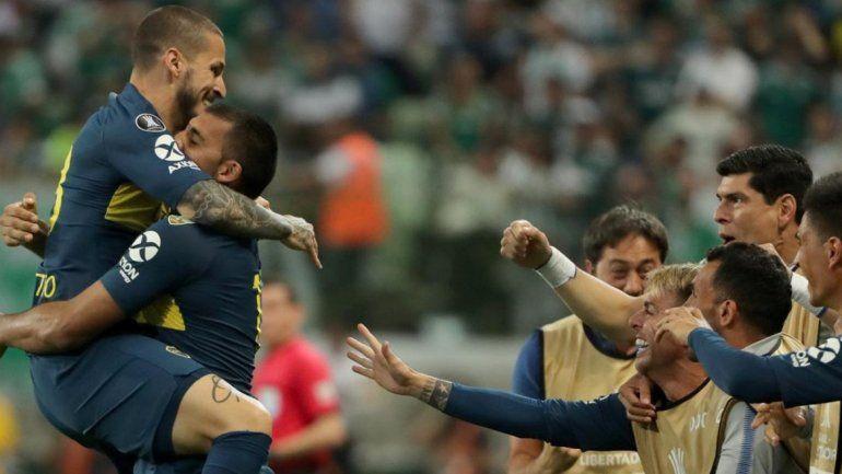 Boca eliminó al Palmeiras y definirá con River la corona de la Copa Libertadores