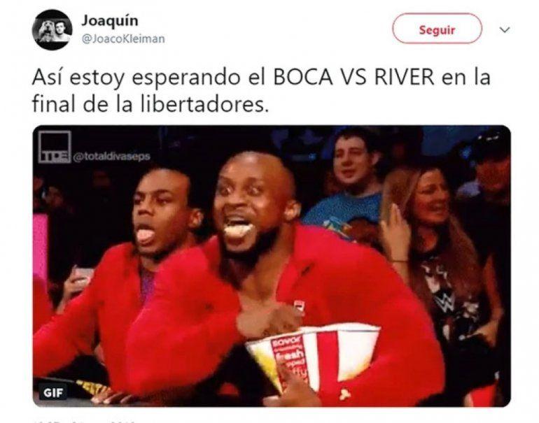 Se confirmó el Superclásico en la final de la Copa Libertadores y estallaron los memes