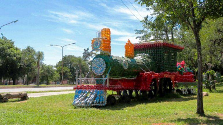 Palpalá: decorarán la ciudad con materiales reciclados y piden botellas plásticas