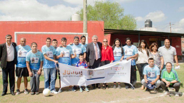 Fútbol inclusivo: apoyo para el equipo que participará en el torneo Nacional