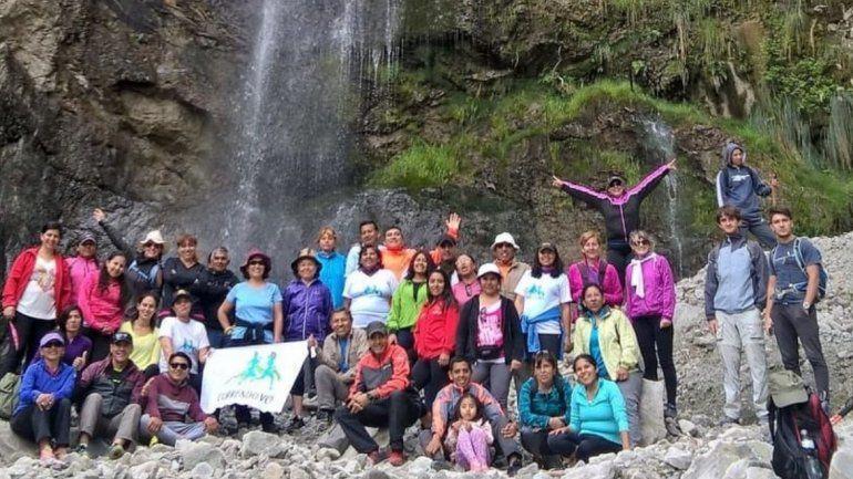 Trekking en Jujuy: la cita ahora es en la Cascada de Bárcena