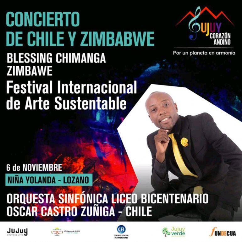 Se presenta una orquesta sinfónica de Chile en el marco del Festival Jujuy Corazón Andino