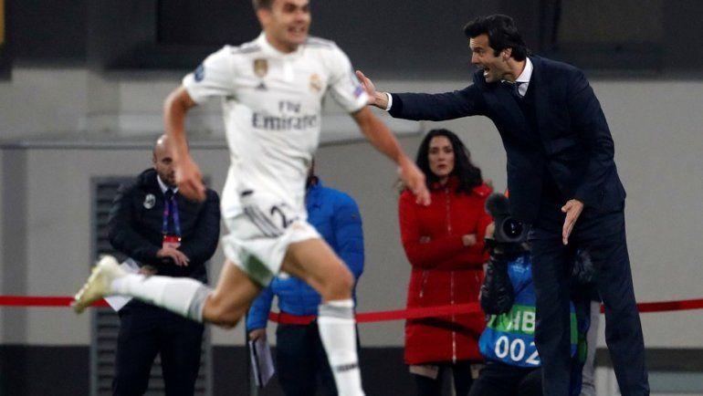 Gran goleada del Real Madrid de Solari en Champions League