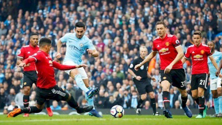 Manchester City se enfrenta al Manchester United: seguí este encuentro por televisión sin perderte nada