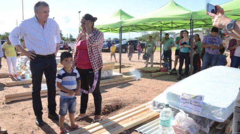 Familias en situación de vulnerabilidad recibieron mobiliario para las viviendas