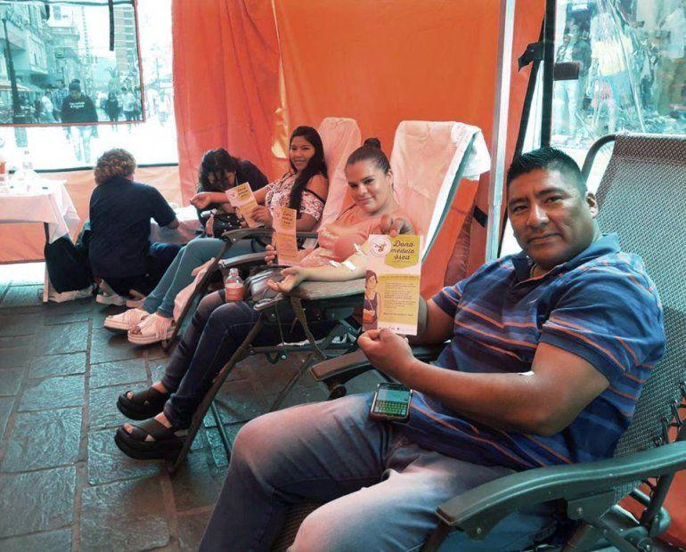 Donantes en Jujuy