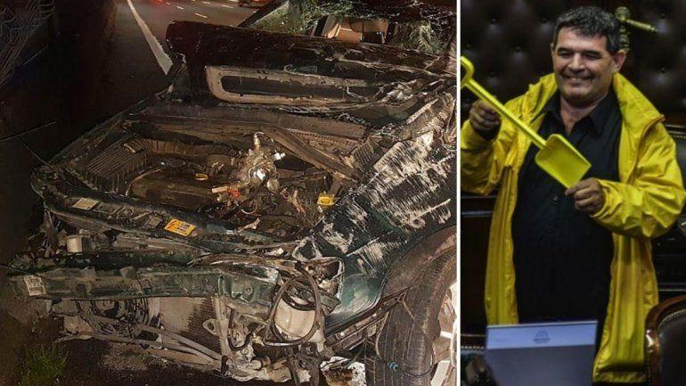 Según el abogado de Olmedo, el choque del diputado fue un atentado