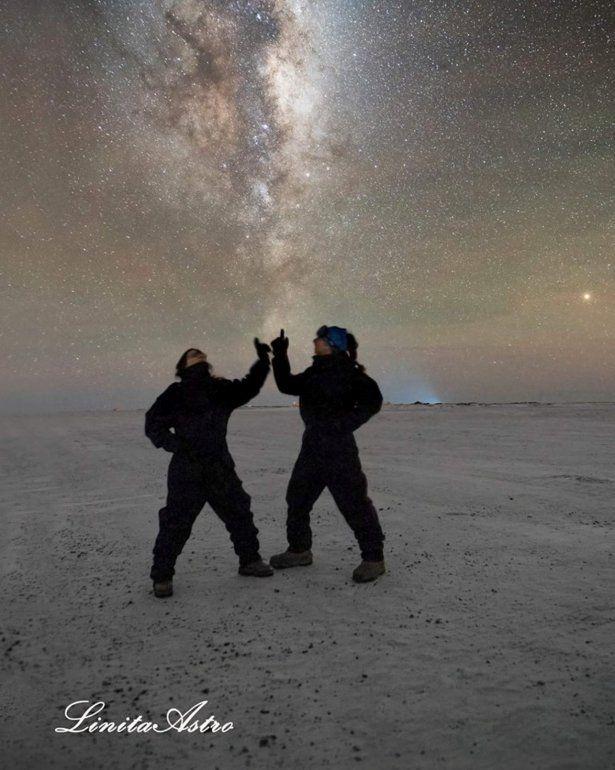 Jorgelina Álvarez vivió un año en la Antártida y logró estas fotos