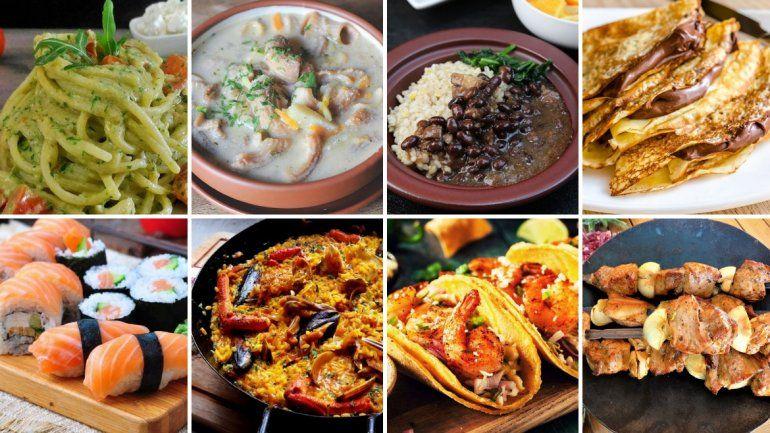 Eligieron las 100 comidas más populares del mundo y hay una sola Argentina