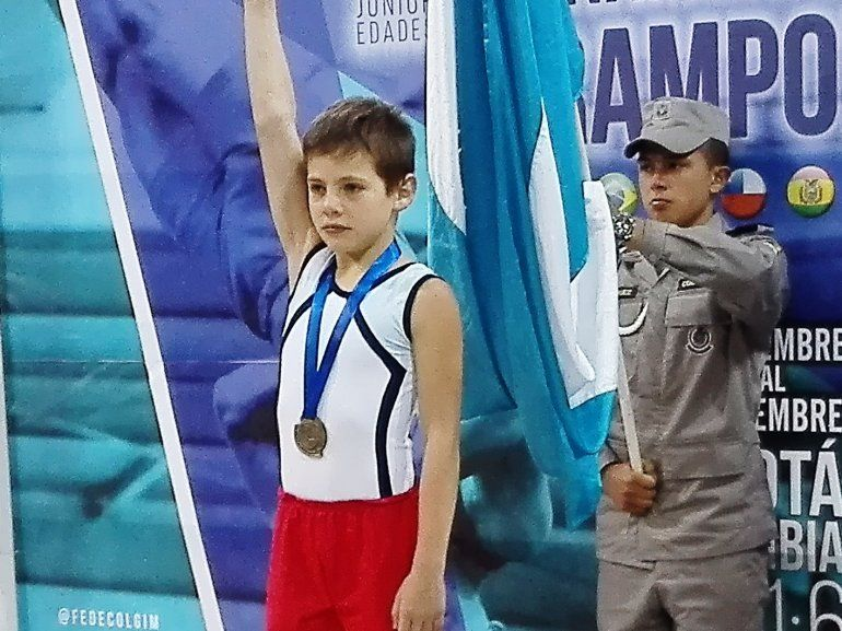 Gimnastas jujeños dirán presente en el campeonato sudamericano de trampolín
