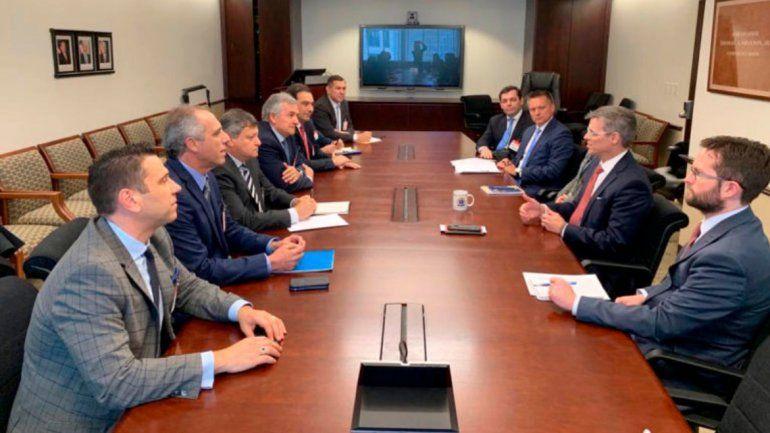 Gira de Morales por EEUU: reuniones estratégicas para reforzar proyectos productivos de la provincia