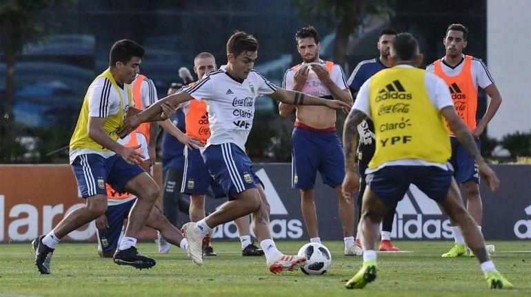 La Selección Argentina se mide esta noche con México con equipo confirmado
