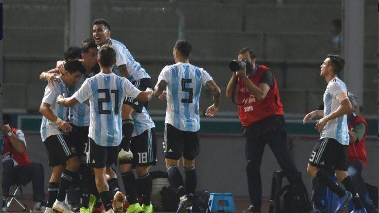 Argentina 2 - Mexico 0