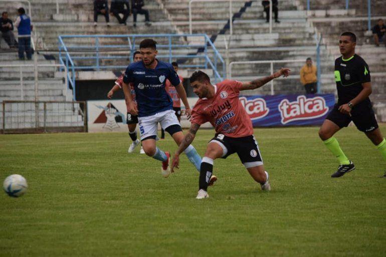 Zapla perdió 1 a 0 en su visita a Gimnasia y Tiro de Salta y quedó comprometido en la tabla
