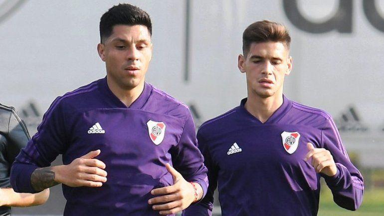 La nueva duda del Muñeco Gallardo: Enzo Pérez o Lucas Martínez Quarta