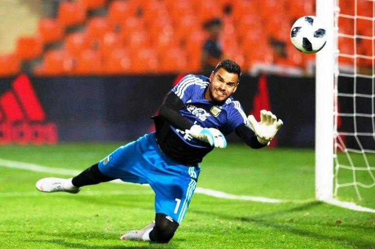 El arquero de la Selección, Sergio Romero le respondió a Mauro Icardi
