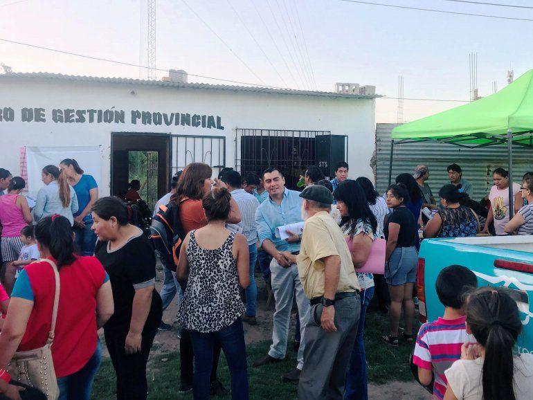Expusieron líneas de financiamiento en la localidad de Pampa Blanca