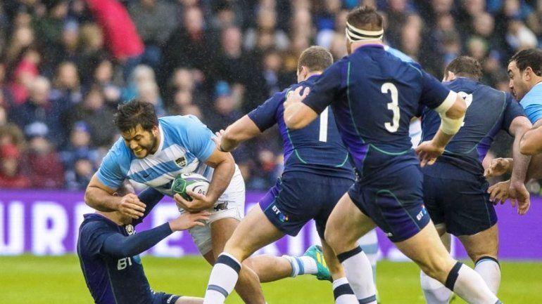Los Pumas cayeron con Escocia y sumaron su 3° derrota consecutiva