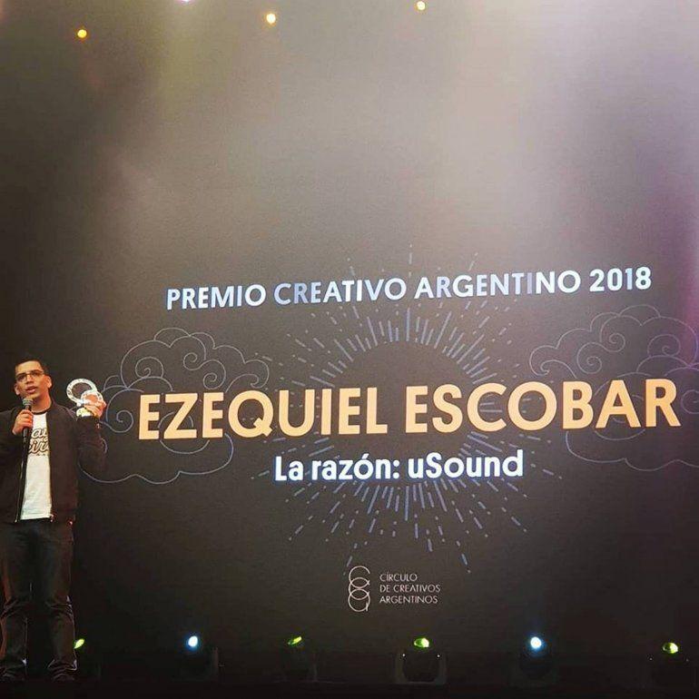 uSound recibió el premio Creativo Argentino 2018 en Buenos Aires