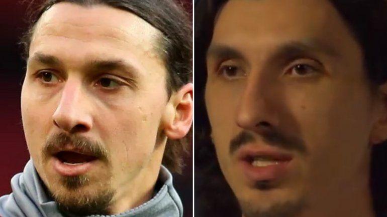 El increíble parecido de Zlatan Ibrahimovic con un jugador de básquet de la Euroliga