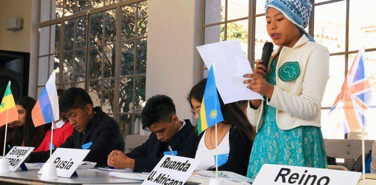 Más de mil alumnos fueron parte del Modelo G20 en 9 ciudades del país