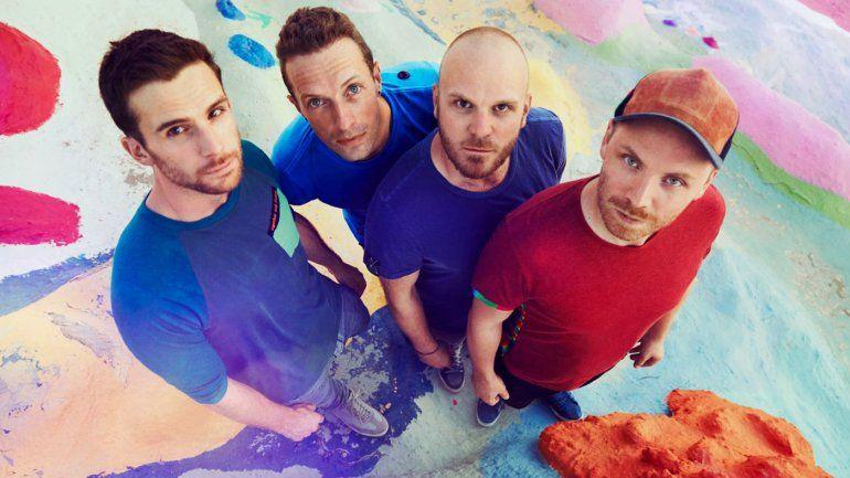 Coldplay sorprendió a todos con el cambio de nombre y su nuevo material