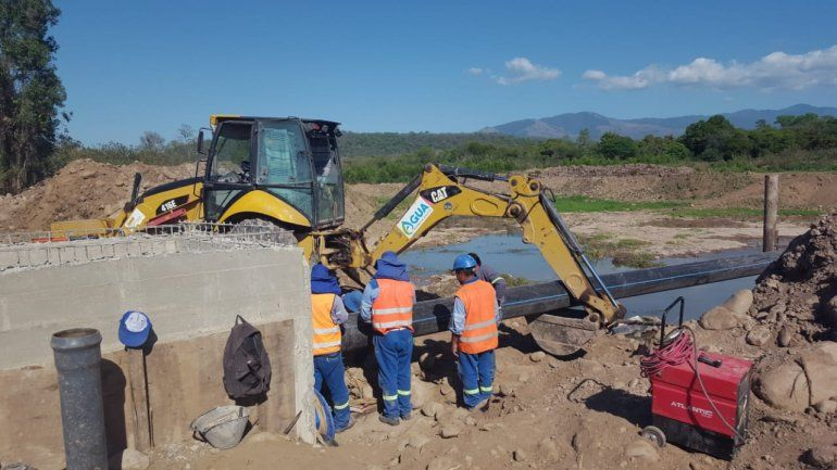San Pedro cuenta con una nueva laguna presedimentadora de agua en La Urbana