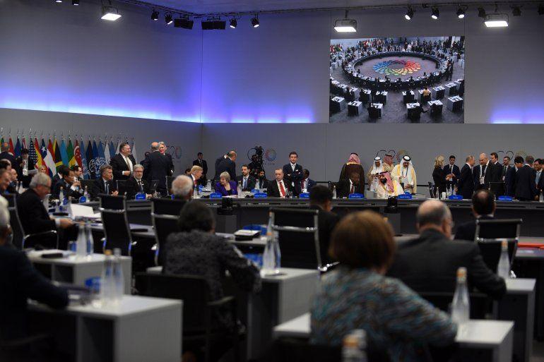 Histórico G20 en Argentina: los líderes mundiales empezaron la extensa agenda