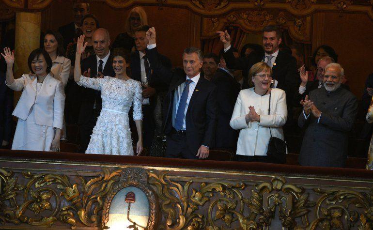 La emoción de Mauricio Macri tras la presentación de Argentum