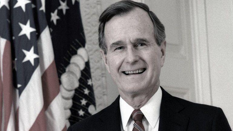 Murió el expresidente de Estados Unidos George H.W Bush