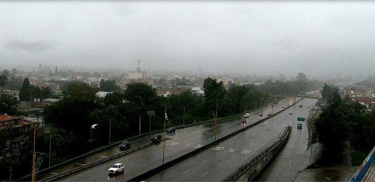 Domingo fresco y con lluvia en Jujuy