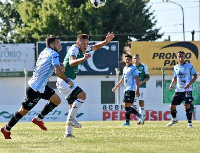 El Lobo empató 1 a 1 ante Sarmiento de Junín