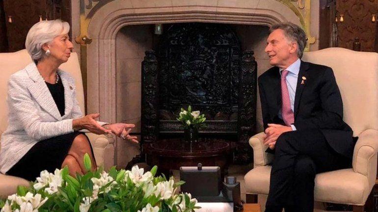 Christine Lagarde llenó de elogios a Macri por el G20