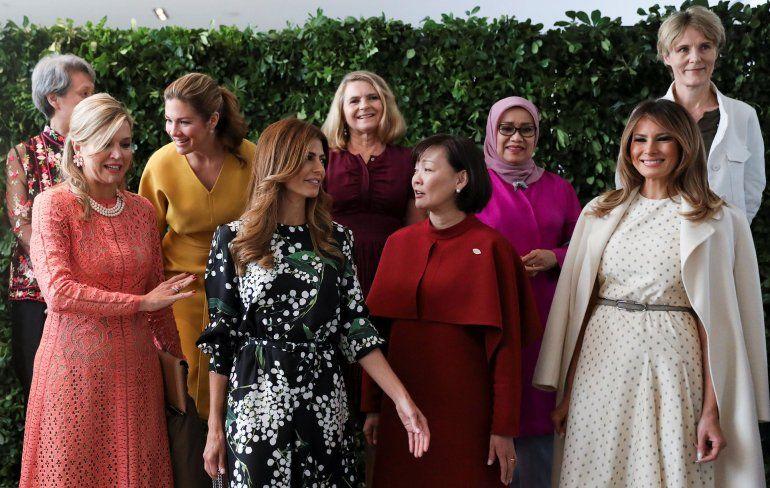 Mirá los looks de las mujeres del G20. No te pierdas la galería de fotos