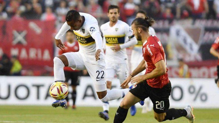 Boca venció a Independiente en la fecha 14 de la Superliga