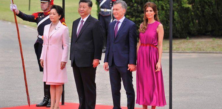 El regalo que le hizo la primera dama de China a Antonia, la hija de Mauricio Macri