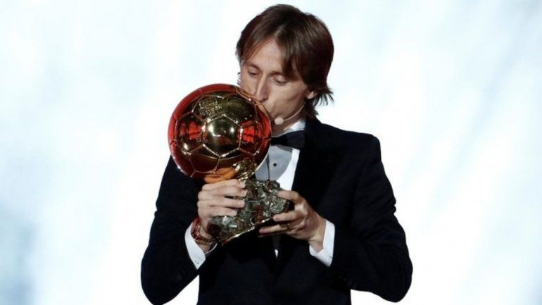 Luka Modric ganó el Balón de Oro
