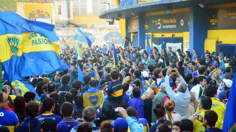 En medio de un nuevo banderazo, Boca viajará a Madrid en busca de la gloria