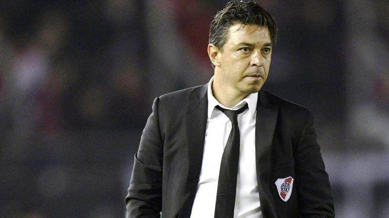 Marcelo Gallardo probó con dos equipos de cara a la final ante Boca