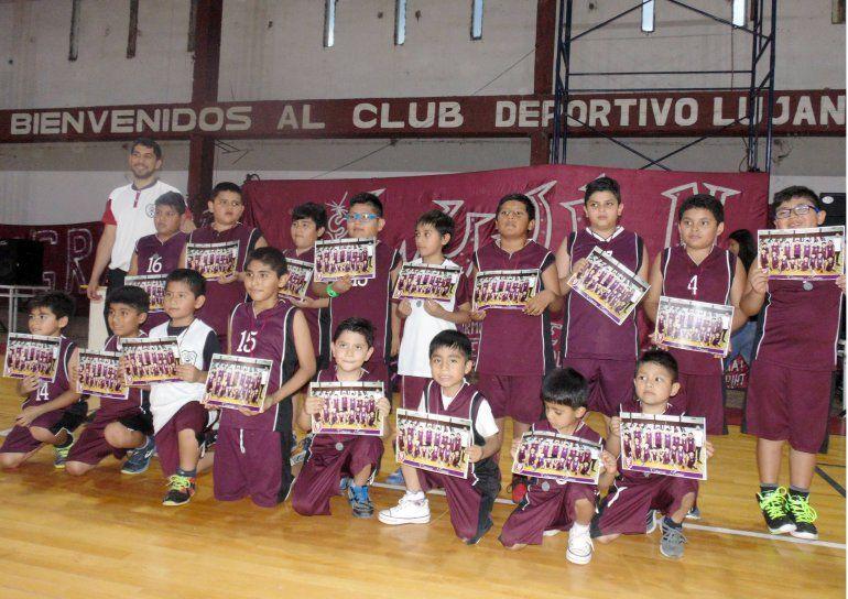 Gran cierre de las escuelas deportivas del Club Luján