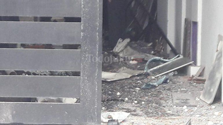 Explosión en una clínica de Palpalá: un operario herido