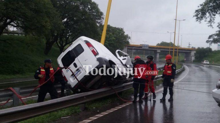 Fatal accidente sobre la ruta 9 en el ingreso a Ciudad de Nieva