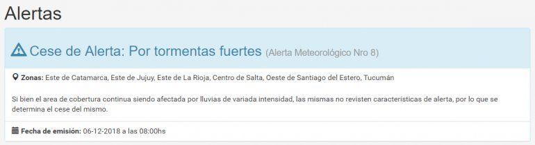 ¿Frío en diciembre? Mirá hasta cuando habrá lluvia y bajas temperaturas en Jujuy