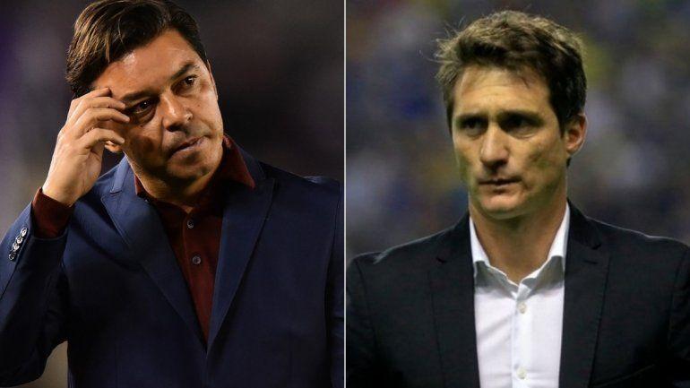 Superfinal: las probables formaciones que planean Gallardo y Guillermo