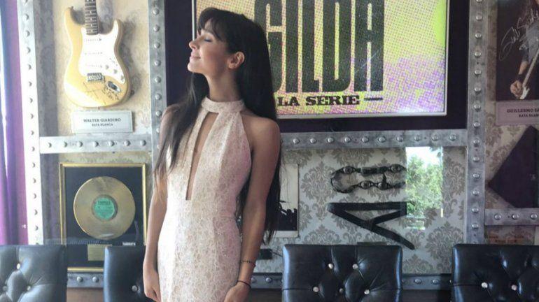La actriz y cantante se estuvo preparando durante más de un año.