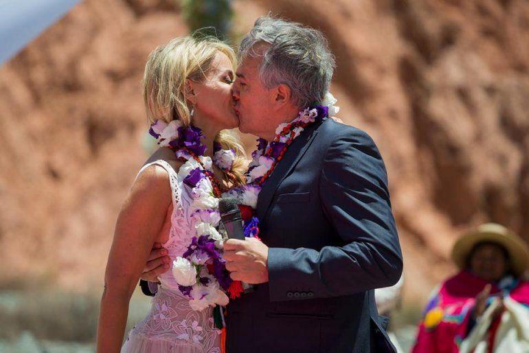 Las mejores fotos de la ceremonia ancestral del casamiento del gobernador Gerardo Morales
