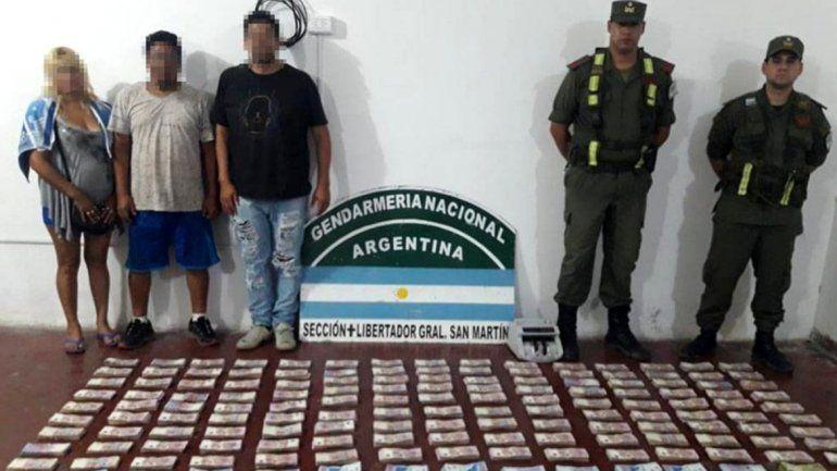 En Jujuy secuestran más de 2 millones de pesos escondidos en un auto