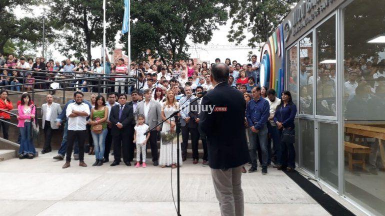 Inauguraron el NIDO en Cuyaya: un moderno edificio para los vecinos