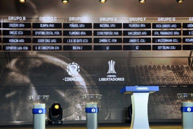 Se sortearon los grupos de la Copa Libertadores 2019: mirá cómo quedaron los equipos argentinos