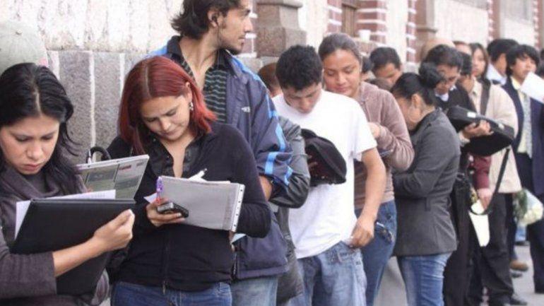 Desempleo en el país: alcanzó el 9% y en un año aumentó a 177.000 la cantidad de desocupados